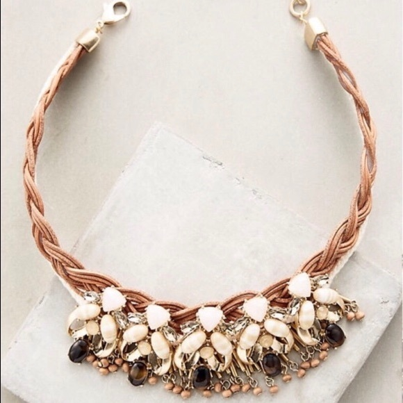 Anthropologie Jewelry - Anthropologie Collar Choker Necklace